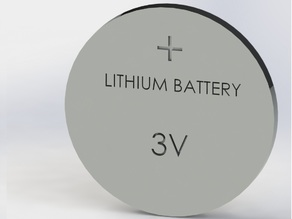 Coin cell - Lithium Battery Model