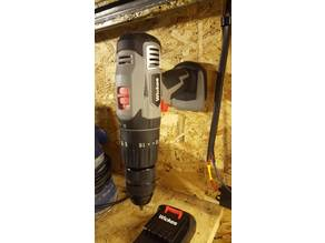18v battery drill/impact wall mount