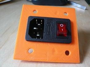 Mendelmax IEC320 Power panel