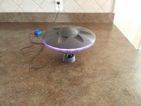 Model UFO with LED lighting