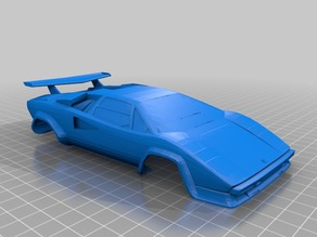 Lambo Countach for OpenZ V16 98mm.