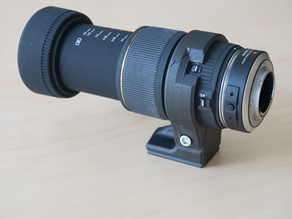 Tripod clamp for Sigma 105mm Macro
