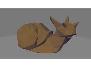 Low Poly Snail