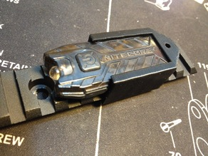 Nitecore Tube Mount for Picatinny rail