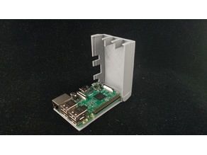 Hinged Raspberry Pi Case