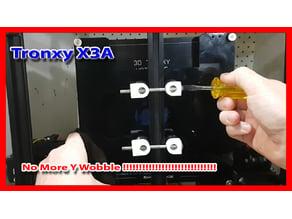 Tronxy X3 adjustable Y Wheel tensioner