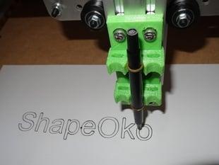 ShapeOko rubberband Penholder