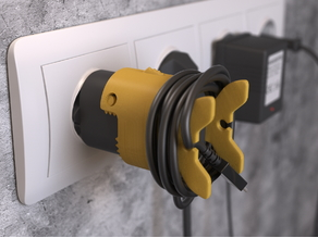 Fish cable holder