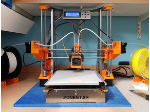 Zonestar P802QR2 X Axis Extruder Mounts