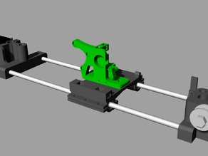 Rigid Wide X Carriage for Mendelmax 1.5