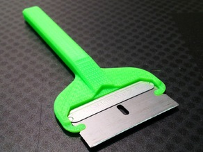 EZ-Snap Razor Blade Handle