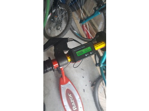 Fuel Gauge Mount for Electric Razor Scooter (Re-make)