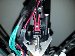 Zesty Nimble adapter for TrickLaser Rostock groove mount