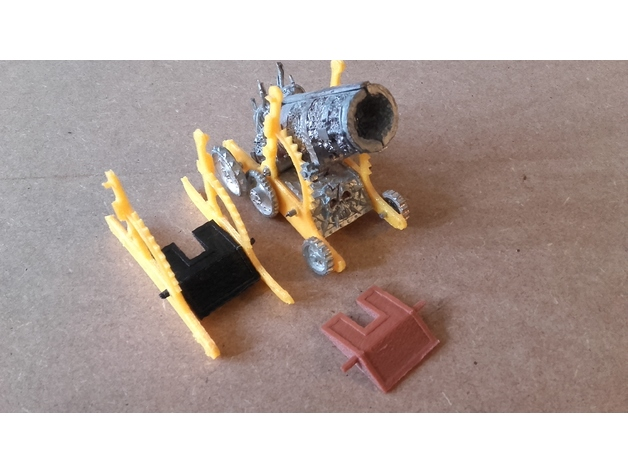 Warhammer Apocalypse Canon parts by Darky-System - Thingiverse