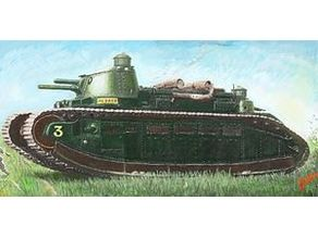 Char 2C (1/72 Scale)