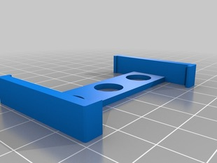 TrackIR 5 holder clip