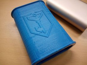 Ingress/Resistance themed protective sleeve for Xiaomi 10000 mAh powerbank