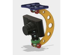 Drone Mount/Stand for Compact Camera