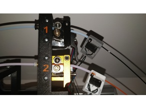 Anet A8 Dual Extruder Motor Holder (single/dual-color)