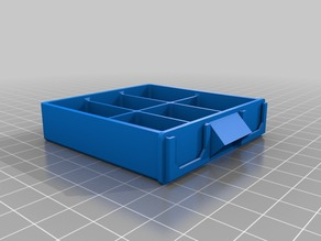My Customized Stackable Resistor Storage Box []2