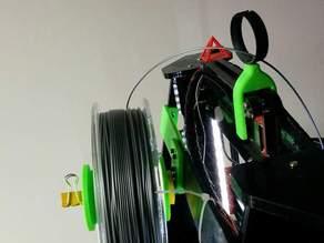 Prusa Acrylic, Afinibot, Spool Holder