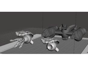 Robotech Paranoid Entangler Pods