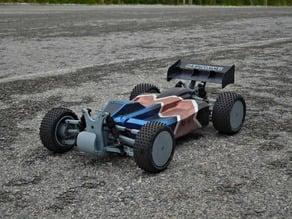 Lynx - Fully 3D-printable 1/10 4wd buggy