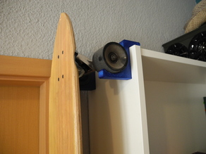 Ikea Billy Longboard Holder