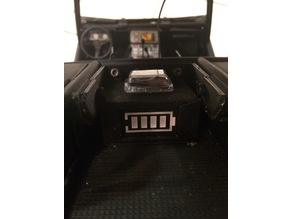 Battery indicator box for rc car LiPo