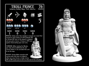 Troll Prince (18mm scale)