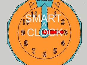 """3D Intelligent Clock """"SmartClock"""" - For Teaching Cildren How To Tell The Time"""