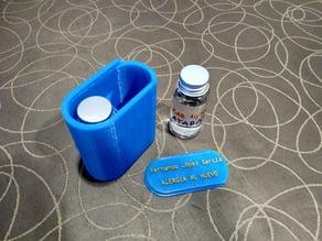 Allergy medicine dose container - Caja medicamentos alergias