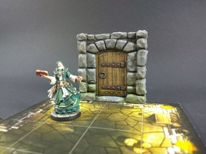 Dungeon doors for Descent: Journeys in the Dark 2ed boardgame