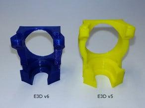 E3D v6 mount for K8200