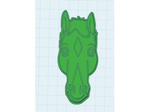 Bojack Horseman cookie cutter