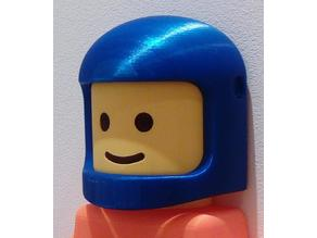 Helmet for Lego man toilet paper holder