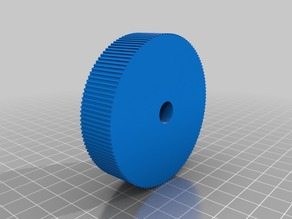 68mm Diameter Wheel for D-Shaft encoder