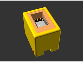 ESP12F  (ESP8266) Programmer (OpenSCAD version)