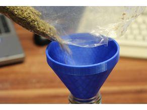 funnel for spice jar