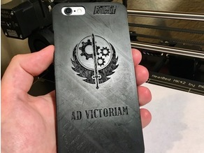iPhone 6 / 6S Case Fallout Brotherhood of Steel