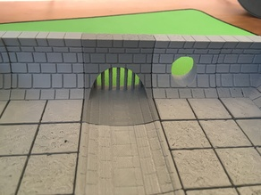 Sewer Sluice Gate (openforge 2.0 compatible)