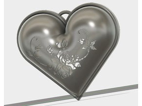 A rose Heart Aroma case