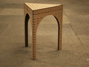 Triangle stool(f.Labo)