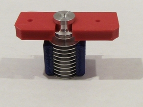 Mounting plate for E3D hotend.