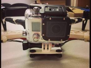 Simple GoPro mount for Alien style quadcopter