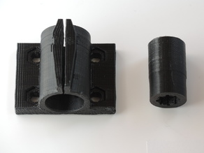 Bearing Block for tapered LM08UU bearings