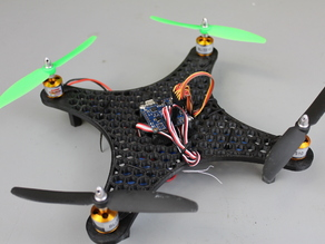 DIY Mini Quadcopter Honeycomb Edition