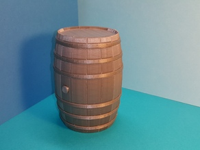 Tonneau - puzzle - Barrel BORDEAUX - option tirelire - piggy bank