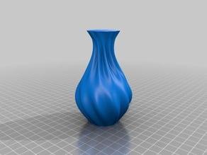 A maths art vase for pretty flowers