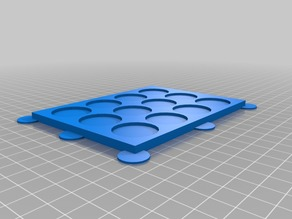 Unit Trays for Miniatures with 25mm base